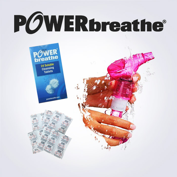 POWERbreathe tablets(세정제)