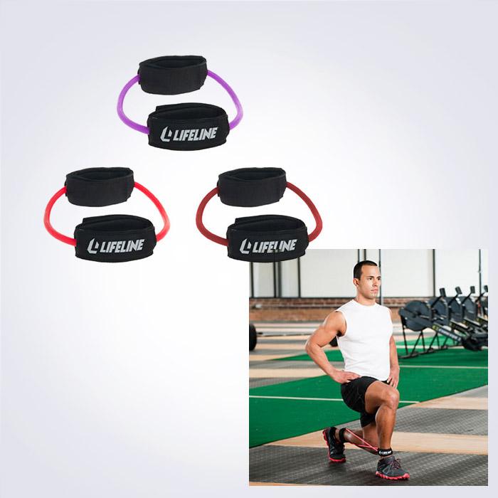 USA BRAND LIFELINE Monster Walk 하체저항밴드,발목운동밴드,하체운동,발목재활,무릎재활