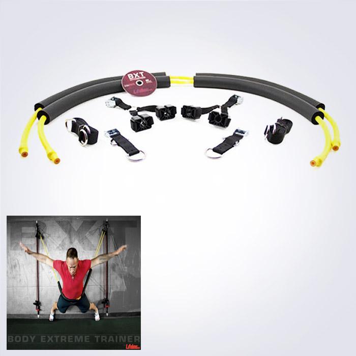 USA BRAND LIFELINE Body Xtreme Trainer LTE 벽이용 튜빙트레이닝,월트레이닝,신개념 홈트레이닝 튜빙밴드세트