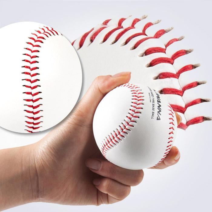 스포리지 실전투구 연습용 인조가죽&코르크 리얼실밥 경식 야구공