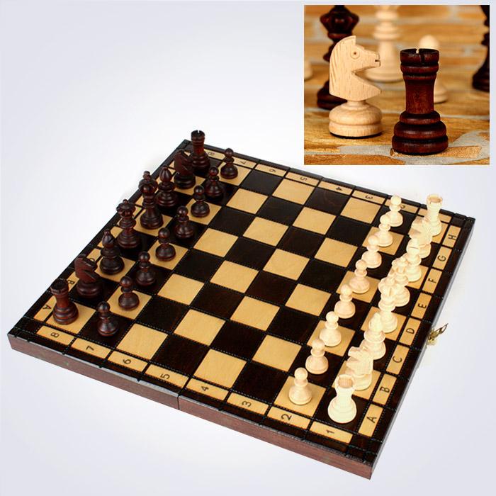 100% 핸드메이드 올림픽 스몰 체스 (35 x 35 x 5 Cm)