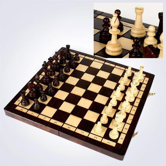 100% 핸드메이드 올림픽 체스 (42 x 42 x 5 Cm)