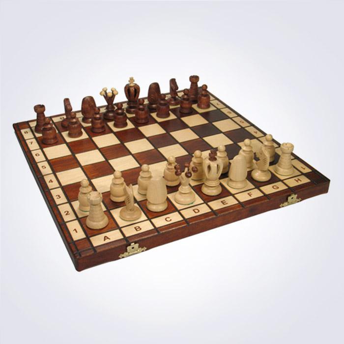 100% 핸드메이드 라지 킹 체스 (44 x 44 x 5 Cm)