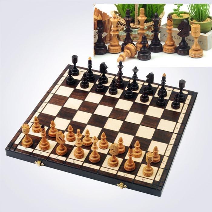 100% 핸드메이드 인디언 체스 (48 x 48 x 6 Cm)