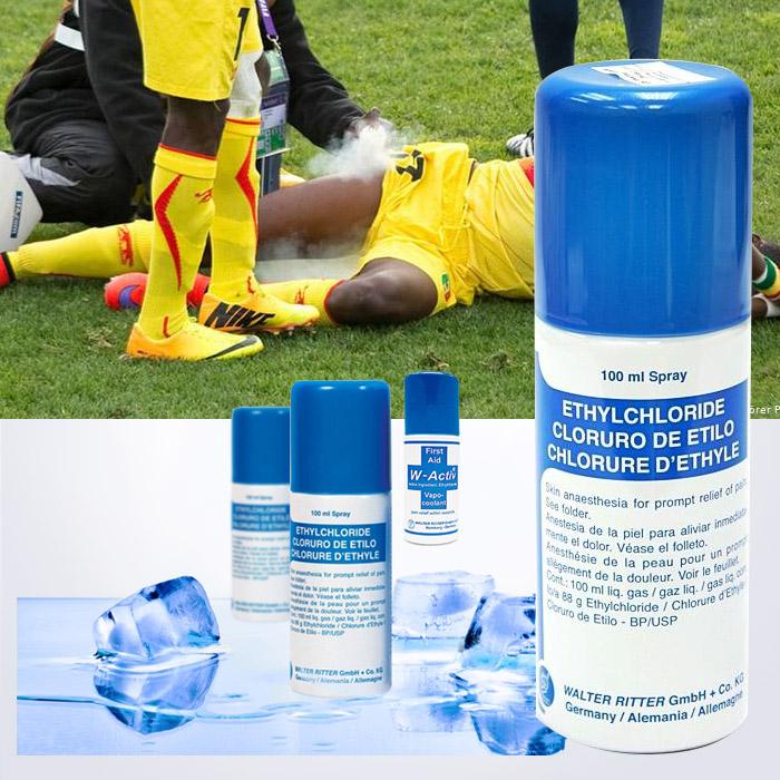 독일정품 에틸클로라이드 급냉 스프레이 100ml (스포츠손상 응급 아이스냉각,콜드,혈관수축,쿨다운)