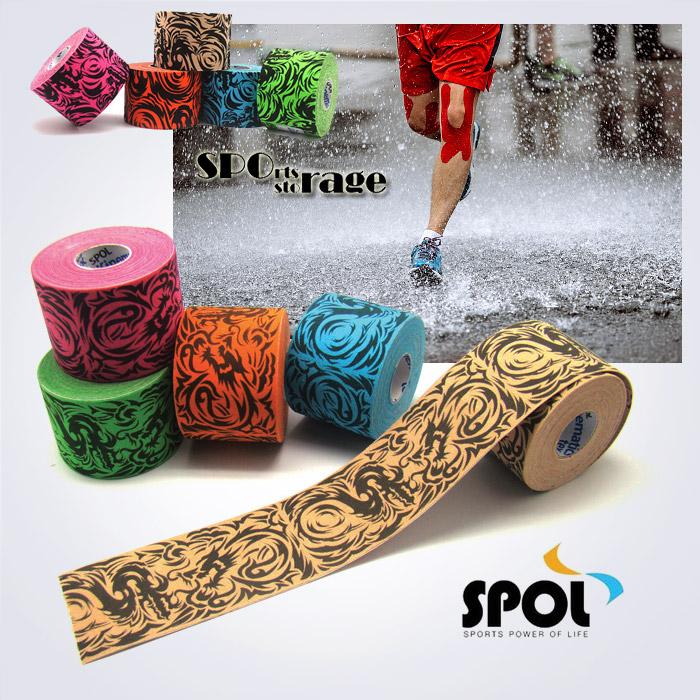 키네메틱스텍스 발수성 스포츠 타투테이프 (색상별,세트구성) 패션테이핑,예쁜테이핑,멋있는테이핑