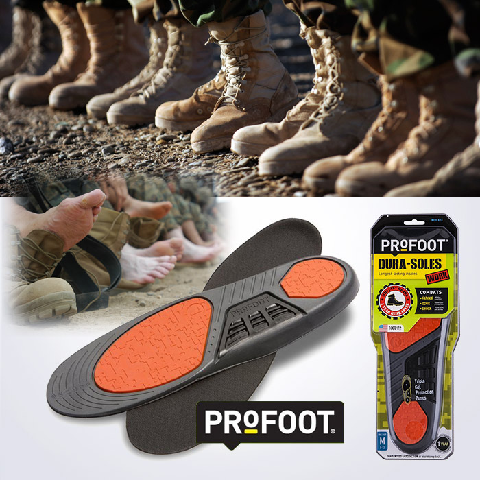 USA MADE PROFOOT Dura Soles 밀리터리 듀라솔