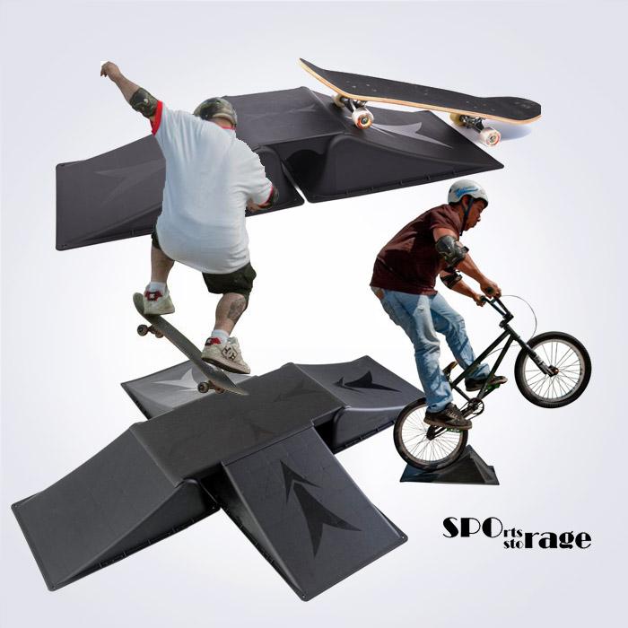 스포리지 대만산 익스트림 장애물 바닥보드 (자전거,보드 장애물 요철보드)