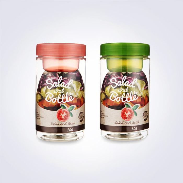 BPA free 코맥스 샐러드보틀 1L