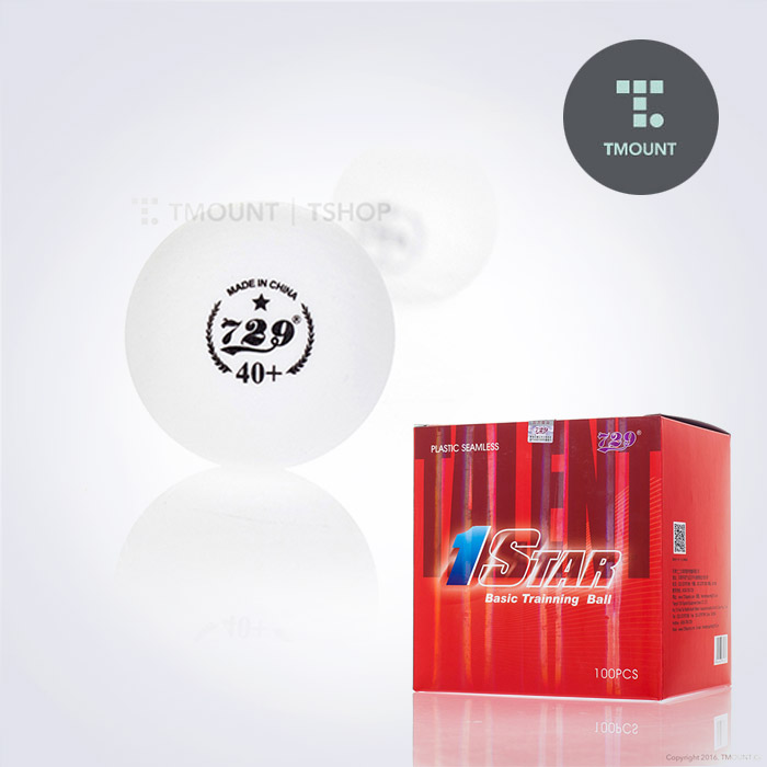 729 1STAR BALL OF PRACTICE 1성 탁구공 100개입