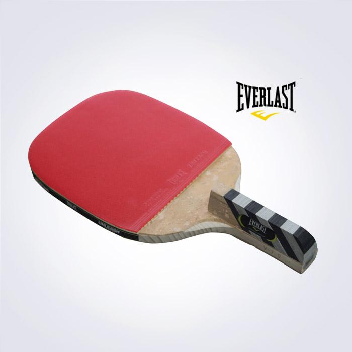 EVERLAST 正品 V-7.0 펜홀더 라켓+공세트