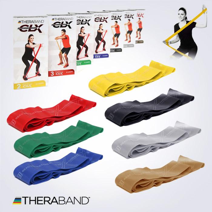 Thera-Band CLX 웹스타일 탄성밴드