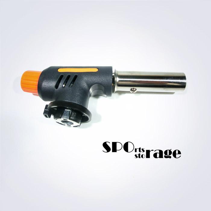 스포리지 원터치 스파크 점화 화력조절 가스토치 (미니 휴대용으로 고장 잘 안나는 튼튼한 제품입니다)