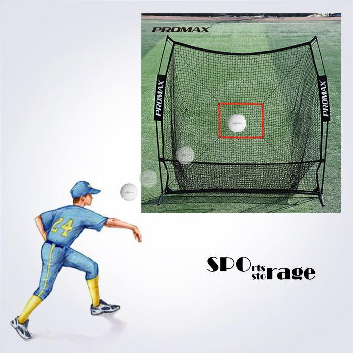 스포리지 대만산 베이스볼 피칭 조립식 스틸 캐치볼네트 (스트라이크존,200개이상 포구)