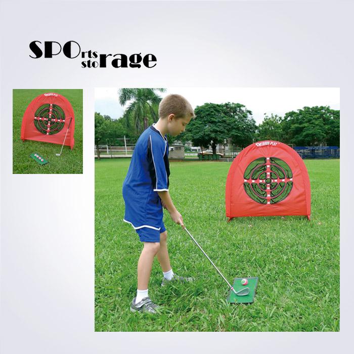 스포리지 품질좋은 대만산 접이식 어프로치 풀세트 (골프타겟,피칭클럽,골프공,바닥매트)