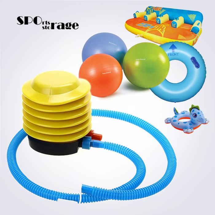스포리지 튜브전용 양방향 발펌프(물놀이튜브,짐볼등에 바람넣을때 뺄때도 사용하는 양방향 풋펌프)