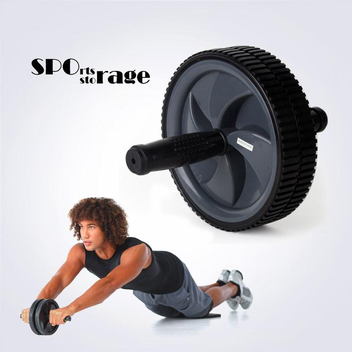 스포리지 AB 스트롱 블랙 파워휠 (플랭크,코어,밸런스 기본기능에 충실한 복근강화 튼튼한 롤러)