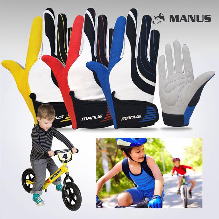 스포리지 KC인증 NEW 아동전용 싸이클 자전거 긴장갑/끼기 편리한 스판텍스 긴장갑
