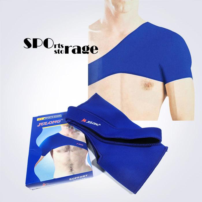 스포리지 JULONG 어깨보호대,네오플랜 재질로 보온성 좋은 보호대 (왼쪽,오른쪽 모두 착용가능)