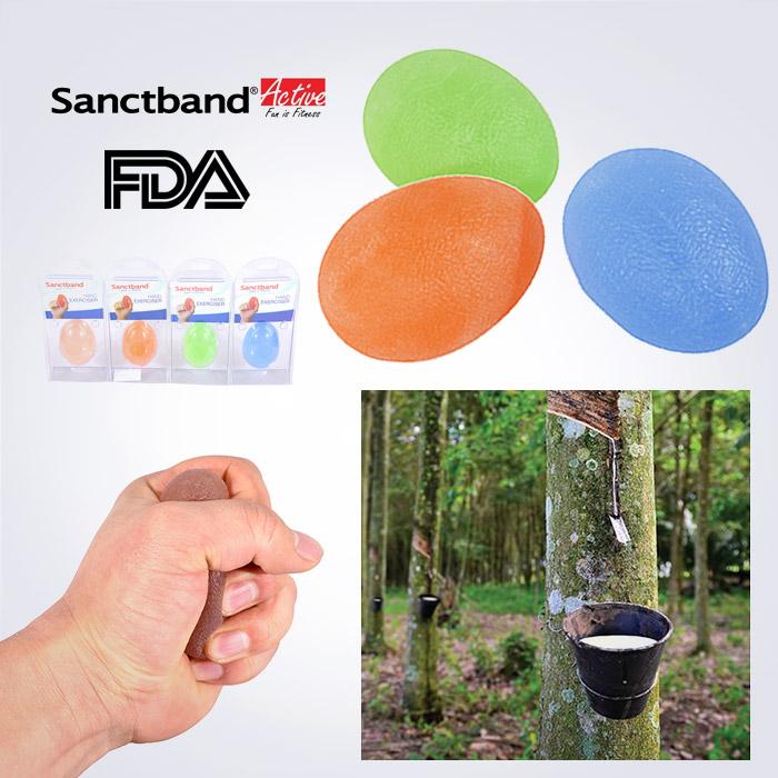 스포리지 FDA정품 천연라텍스 SanctBand Jelly EggBall 악력기 (정말 탱탱합니다)