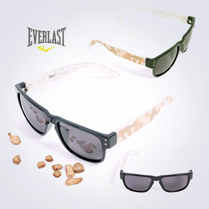 EVERLAST Polarized Sunglass - Sports Look_BKCASL