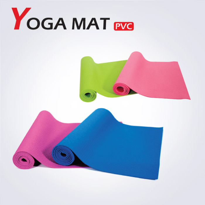 PVC 슬림 요가매트 (중국산)